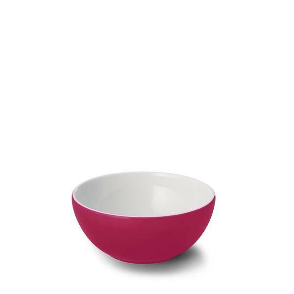 Dibbern Schale 0,6 ltr. Solid Color himbeere