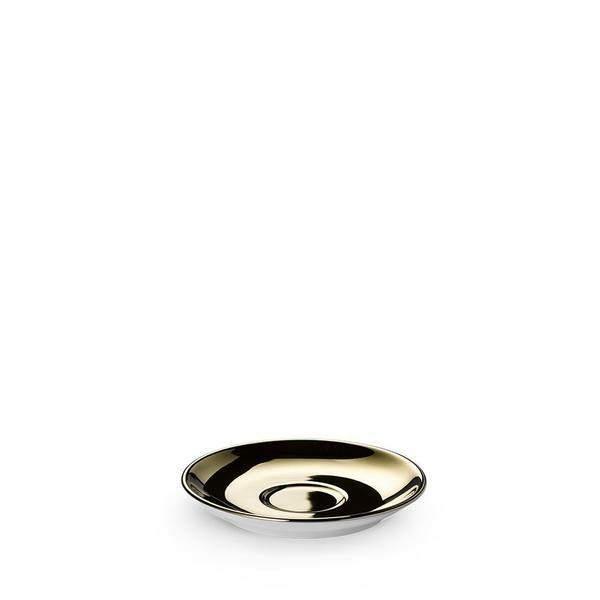 Dibbern Espressountertasse Classico Solid Color gold