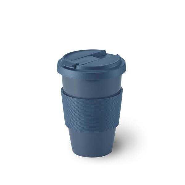 Dibbern Porzellanbecher Coffee-To-Go 0,35 l Solid Color indigo