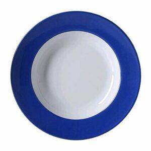 Dibbern Suppenteller 23 cm Solid Color Kornblume
