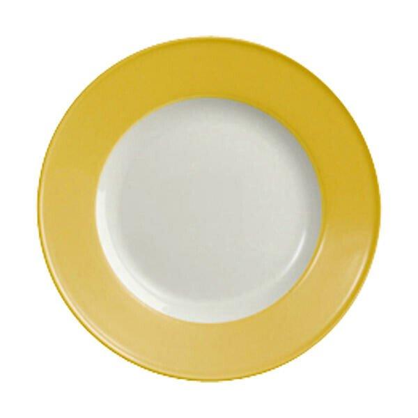 Dibbern Frühstücksteller 21 cm Solid Color Sonnengelb