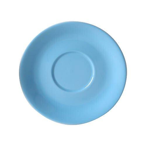 Dibbern Jumbountertasse Solid Color Hellblau rund