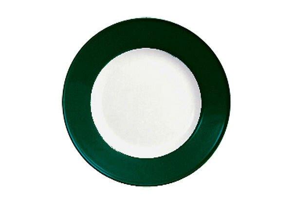 Dibbern Frühstücksteller 21 cm Solid Color Tannengrün