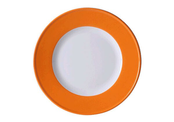 Dibbern Frühstücksteller 21 cm Solid Color Orange