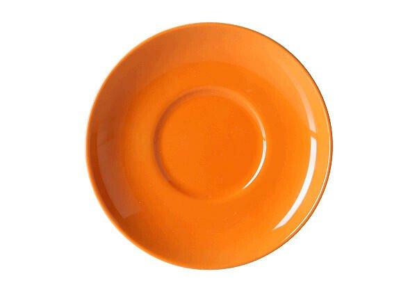 Dibbern Untertasse 0,25 l Solid Color orange