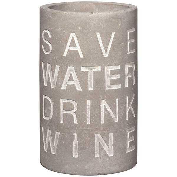 Räder Weinkühler Beton Save Water Drink Wine