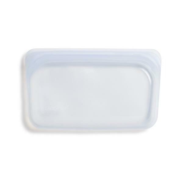 Stasher Silikonbeutel 0,29 l Snack Clear