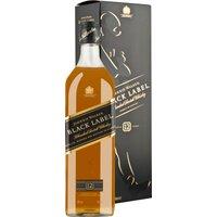 Johnnie Walker Black Label Blended Scotch Whisky 12 Years  in…, Schottland, trocken, 0,7l