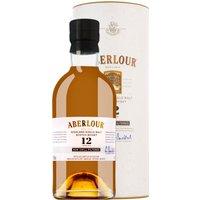 Aberlour 12 Y Non-Chill-Filtered Highland Single Malt Scotch Whis...