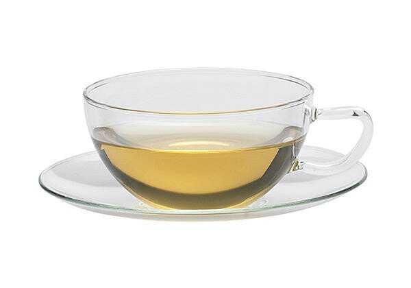 Trendglas Teetasse mit Untertasse 0,2l Opus