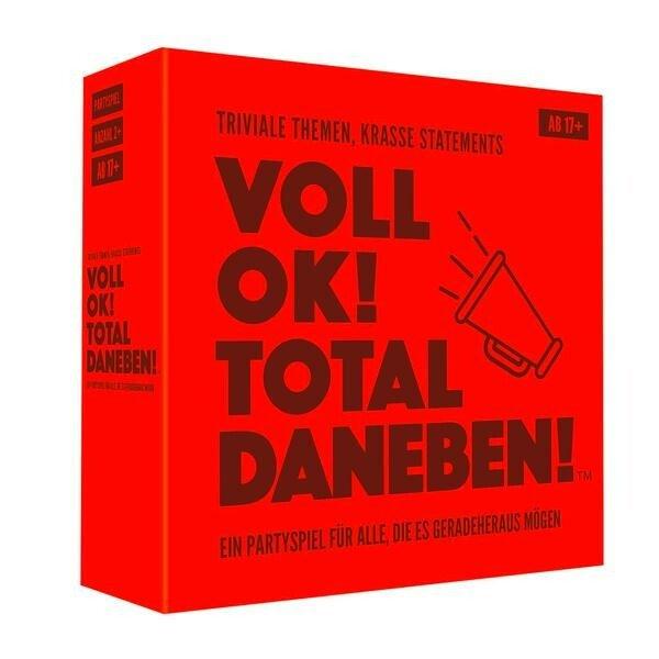 Kylskapspoesi Spiel Voll OK! Total Daneben!