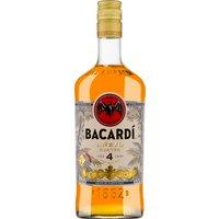 Bacardi Añejo Cuatro 4 Years   – Rum, Puerto Rico, trocken, 0,7l