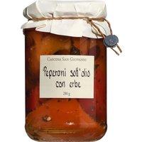 Cascina San Giovanni sott'olio con erbe – Paprika mit Kräutern i…, Italien, 0.2800 kg