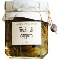 Cascina San Giovanni Frutti di cappero – Kapernäpfel in Weinessi…, Italien, 180g