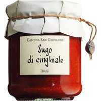Cascina San Giovanni Sugo di cinghiale – Tomatensauce mit Wildsch…, Italien, 0.1800 l