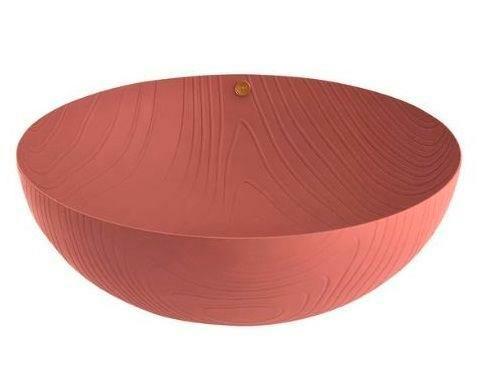 Alessi Schale 21 cm Veneer braun
