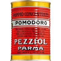 Pezziol Pomodoro Marca Rossa – Tomatenmark, Dose 400g   – Konserven, Italien, 0.4000 kg