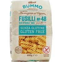Rummo Fusilli N°48 Gluten Free   – Pasta, Italien, 0.4000 kg