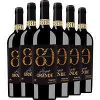 6er Aktion Barbanera Gigino Grande 2015 – Weinpakete, Italien, halbtrocken, 4.5000 l