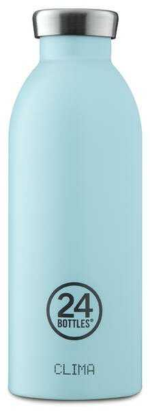 24bottles Thermo Trinkflasche 0,5 l Clima Bottle cloud blue