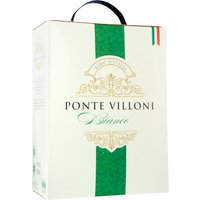 Ponte Villoni Bianco 3,0L Bag in Box   – Weisswein, Italien, trocken, 3l
