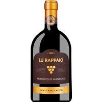 Masca del Tacco Lu Rappaio Primitivo di Manduria Dop 2019 – Wein, Italien, 0,75l