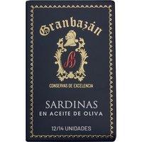 Granbazán Sardinen in Olivenöl   – Wein, Spanien, 0.1150 kg