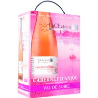 Lacheteau Cabernet d'Anjou Aoc 3,0L Bag in Box   – Roséwein, Frankreich, halbtrocken, 3l