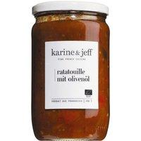 Karine & Jeff Ratatouille mit Olivenöl 660g   – Saucen, Pesto & …, Frankreich, 0.6600 kg