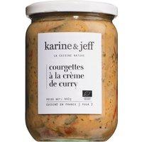 Karine & Jeff Cougrettes à la Crème de Curry – Zucchini in Curr…, Frankreich, 0.4400 kg