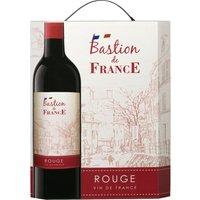 Bastion de France Rouge 3,0L Bag in Box   – Rotwein, Frankreich, trocken, 3l
