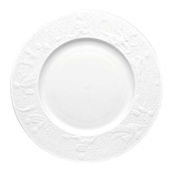 Rosenthal Platzteller 28 cm Zauberflöte Weiß