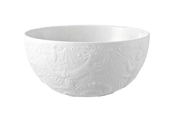 Rosenthal Dessertschale 11 cm Zauberflöte Weiß rund