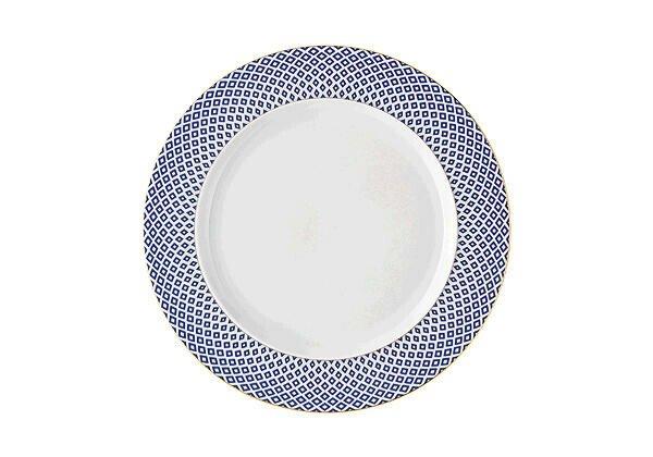 Rosenthal Frühstücksteller 22 cm Francis Carreau Bleu