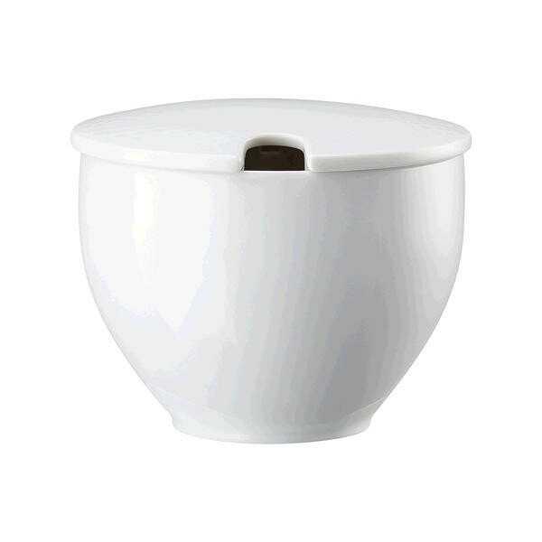 Rosenthal Zuckerdose Junto Weiß