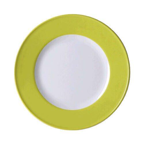 Dibbern Teller 21cm Fahne Solid Color limone