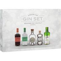 Gin Tasting Box Premium 5x50ml   – Gin – Sierra Madre, Deutschland, trocken, 0.2500 l