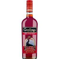 Gosling's Black Seal 151 Proof Rum Bermuda   – Rum – Goslings Rum, Bermuda, trocken, 0,7l