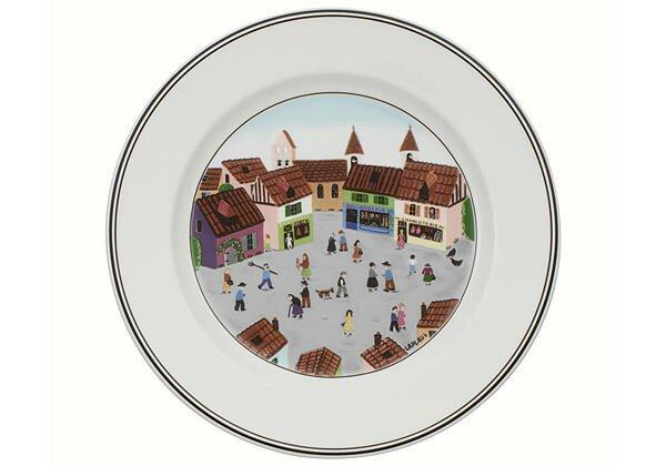 Villeroy & Boch Frühstücksteller 21cm Dorf Design Naif