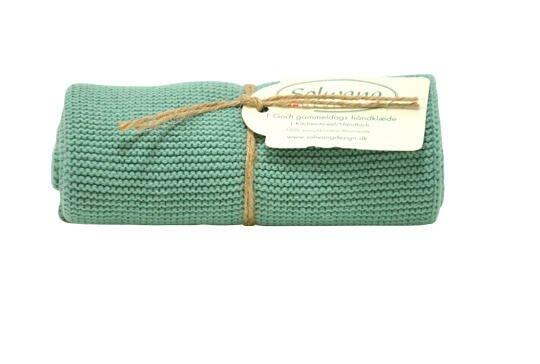 Solwang Handtuch rustikales grün