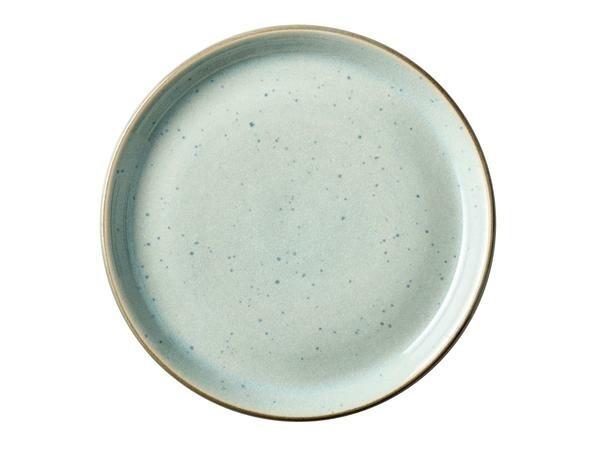 Bitz Teller 17 cm hellblau/grau