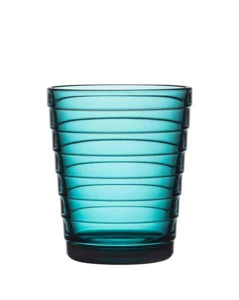 iittala Glas Aino Aalto 0,22 l meeresblau