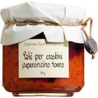 Cascina San Giovanni Paté per crostini peperoncino tonno – Peper…, Italien, 0.0800 kg