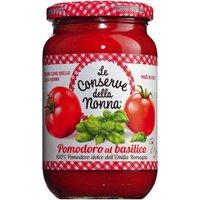 Le Conserve della Nonna Pomodoro al basilico – Tomatensauce mit B…, Italien, 0.3700 l