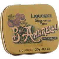 Amarelli Liquorice Rossano Calabria grüne Dose 20g   – Fudge, Dr…, Italien, 0.0200 kg