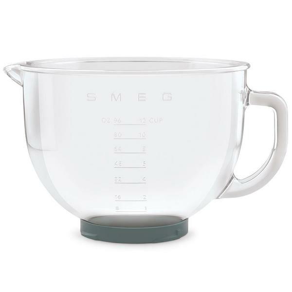 smeg Glasschüssel 4,8 l zu Küchenmaschine SMF02 und SMF03