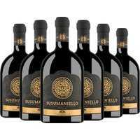 6er Aktion Masca del Tacco Susumaniello Puglia Igp 2020 – Weinpakete, Italien, trocken, 4.5000 l