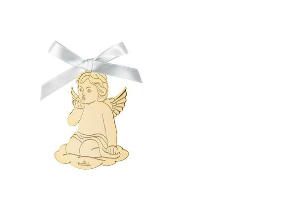 Rosenthal Engel Handkuss 8,5x6cm Angels Gold