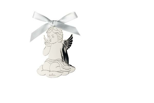 Rosenthal Engel Handkuss 8,5x6cm Angels Silver