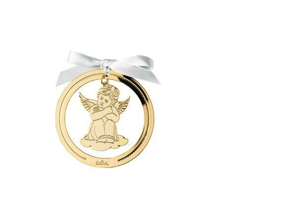 Rosenthal Engel mit Herz 8cm Angels Gold